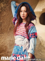 Gong Hyo Jin для Marie Claire March 2013