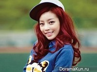 KARA's Goo Hara для Elle Girl October 2012
