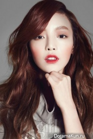 Goo Hara (KARA) для Vogue Girl March 2013 Extra
