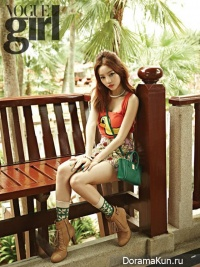 Goo Hara (KARA) для Vogue Girl March 2013
