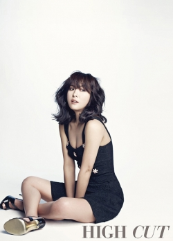 Ha Ji Won для High Cut's Special Volume 2012