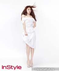 Ha Ji Won для InStyle Korea June 2013