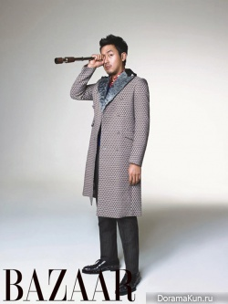 Ha Jung Woo для Harper's Bazaar September 2012
