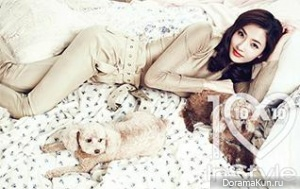 Han Chae Young для InStyle March 2013