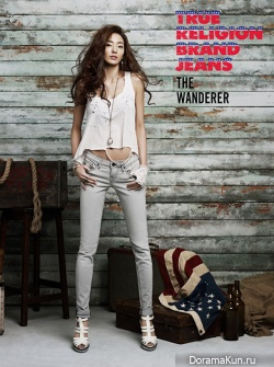 Han Chae Young для True Religion Brand Jeans Spring 2012
