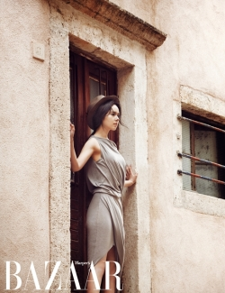 Han Ga In для Harper's Bazaar Korea June 2012
