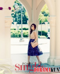Han Hye Jin для Singles Korea June 2012