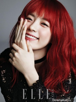 Han Hyo Joo для Elle January 2013 Extra
