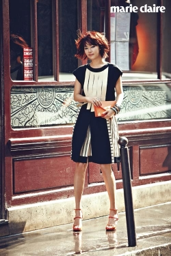Han Ji Hye для Marie Claire Korea May 2012