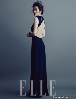 Han Ji Min для Elle Korea January 2014