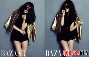 Han Ji Min для Harper's Bazaar Korea July 2012