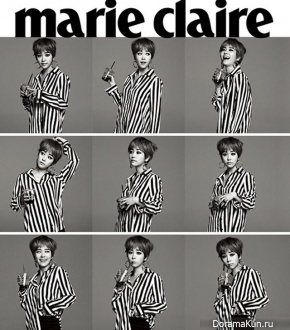 Han Ji Min для Marie Claire Korea June 2013