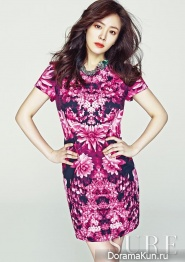 Han Ji Min для SURE Korea May 2013