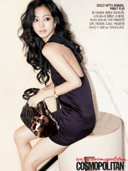 Han Ye Seul, Ji Jin Hee для Cosmopolitan Korea October 2009
