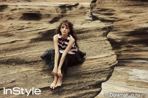 Han Ye Seul для InStyle Korea June 2013