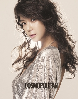 Hwang Jung Eum для Cosmopolitan Korea April 2011