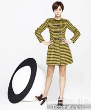 Hwang Jung Eum для InStyle February 2013
