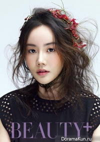 Hwang Woo Seul Hye для Beauty+ April 2014