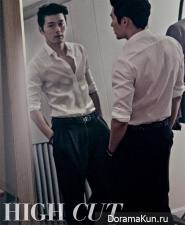Hyun Bin для High Cut Vol. 124