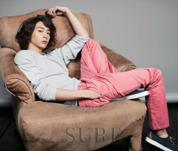 Hyun Woo для SURE Korea March 2012