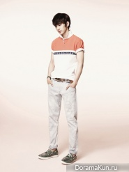 IU, Yoo Seung Ho для G by Guess Spring/Summer 2012 Catalogue