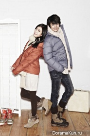 IU, Seo In Guk для Unionbay Winter 2011 Catalogue