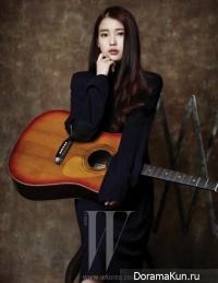 IU, Choi Baek Ho для W Korea January 2013