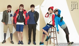 Infinite для Elle Girl Korea September 2012