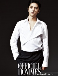 L (Infinite) для L'Officiel Hommes November 2013