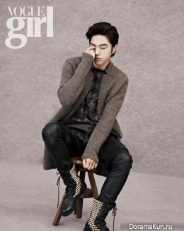 L (Infinite) для Vogue Girl Korea November 2013