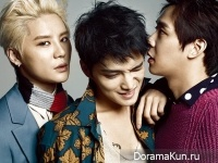 JYJ для Marie Claire Korea August 2014