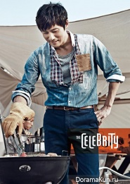 Jang Dong Gun для The Celebrity No.1 Korea 2013