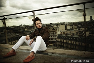 Jang Geun Suk для Harper's Bazaar October 2012 Extra
