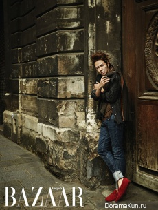 Jang Geun Suk для Harper's Bazaar October 2012