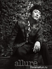 Jang Hyuk для Allure Korea August 2013