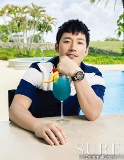 Jang Hyuk для SURE Korea July 2013