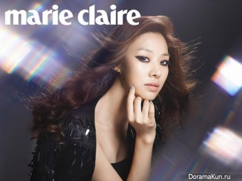 Jang Shin Young для Marie Claire Korea September 2013