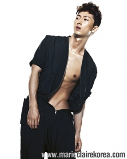 Jang Wo Hyuk для Marie Claire Korea August 2011