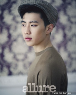 Jay Park для Allure Korea April 2012
