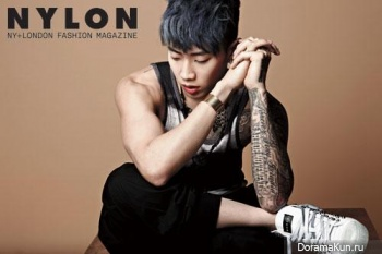 Jay Park для Nylon Korea May 2013