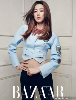 Jeon Ji Hyun для Harper's Bazaar Korea April 2014