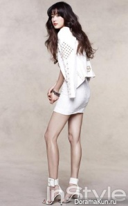 Jeon Ji Hyun для InStyle March 2013 Extra 2
