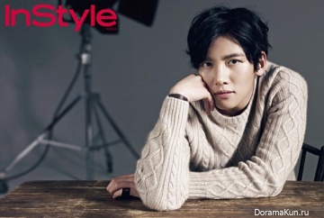Ji Chang Wook для InStyle Korea January 2014