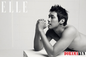 Ji Hyun Woo для Elle Korea November 2011