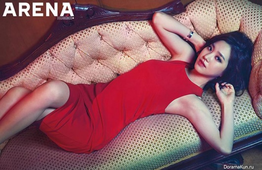 Jin Se Yeon для Arena Homme Plus June 2014