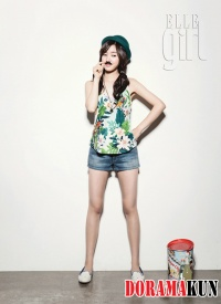 Jin Se Yeon для Elle Girl Korea August 2012