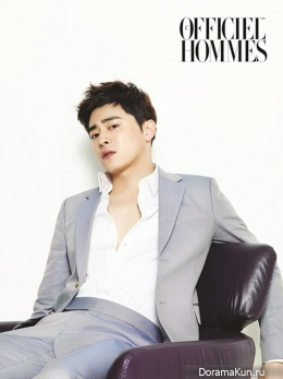 Jo Jung Seok для L'Officiel Hommes June 2014