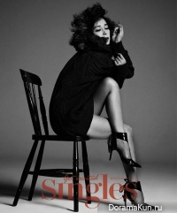 Jo Min Soo для Singles Korea September 2013