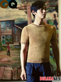 Joo Ji Hoon для GQ Korea August 2012