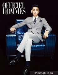 Joo Ji Hoon для L'Officiel Hommes December 2013